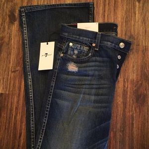 NWT 7 for all Mankind High Waist Vintage Bootcut